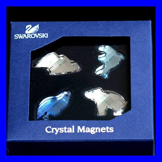 SWAROVSKI-Animals-CRYSTAL-FIGURINE-SET-w-Certificate